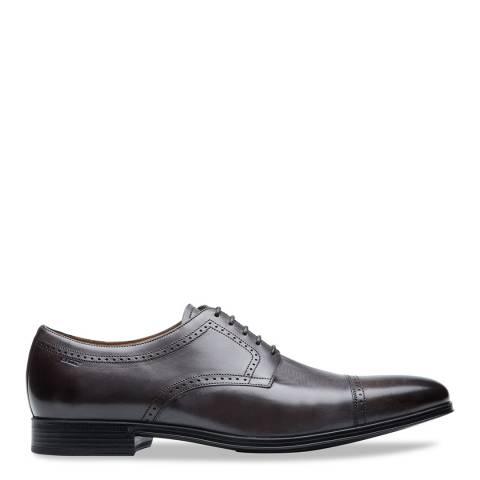 BALLY Dark Brown Lebikon Derby Shoes