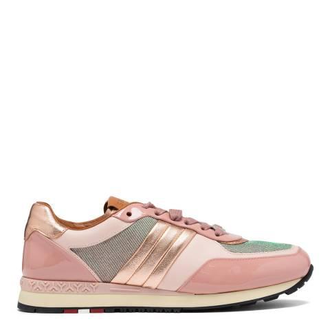 BALLY Petal Pink Asyia Sneakers