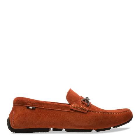 BALLY Tan Pardue Driver Shoes