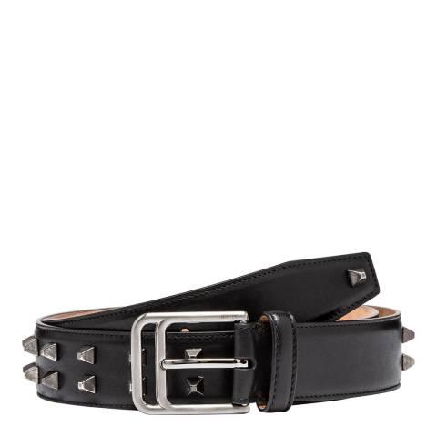 BALLY Black Freddy Leather Belt 100cm