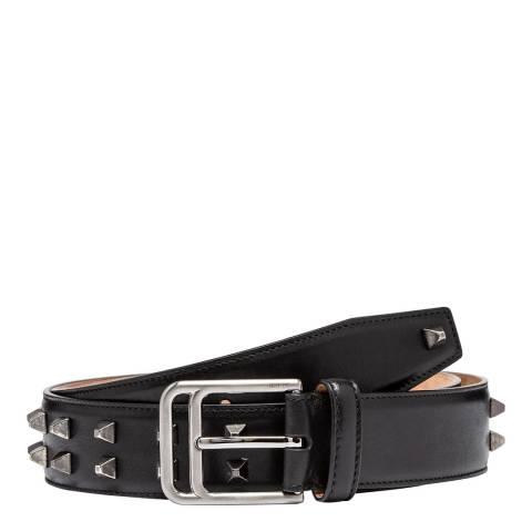 BALLY Black Freddy Leather Belt 110cm