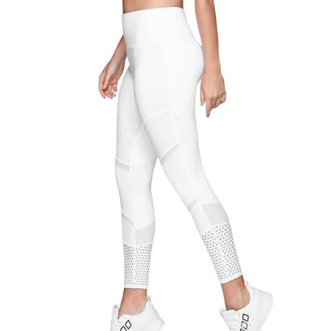 Lorna Jane White Booty Support Tights