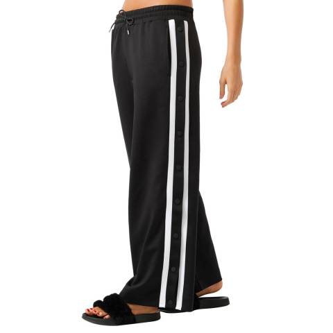 Lorna Jane Black/White All Day Active Track Pant