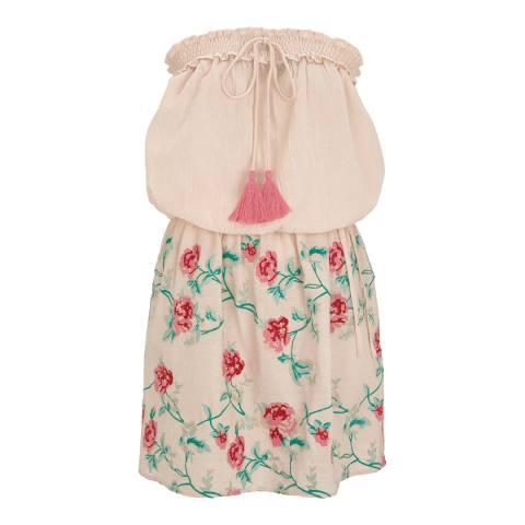Pampelone Pink Olbia Mini Floral Dress