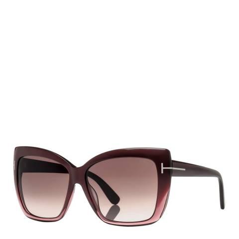 Tom Ford Women's Red Tom Ford Sunglasses 59mm