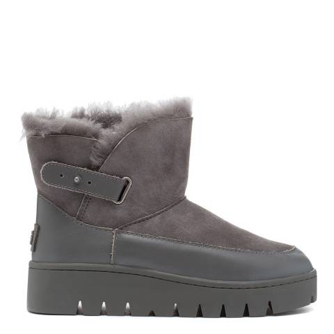 Australia Luxe Collective Grey Cameron Ankle Boots