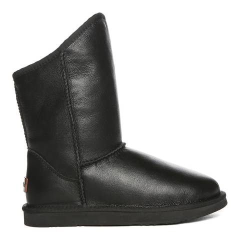 Australia Luxe Collective Black Cosy Short Nappa Ankle Boots
