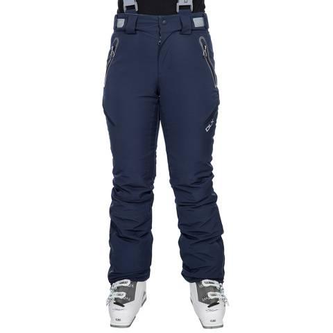 DLX Women's Navy Marisol Ski Pant