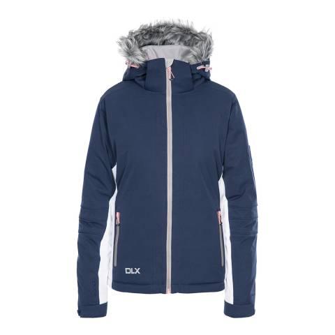 DLX Women's Navy Sandrine Ski Jacket