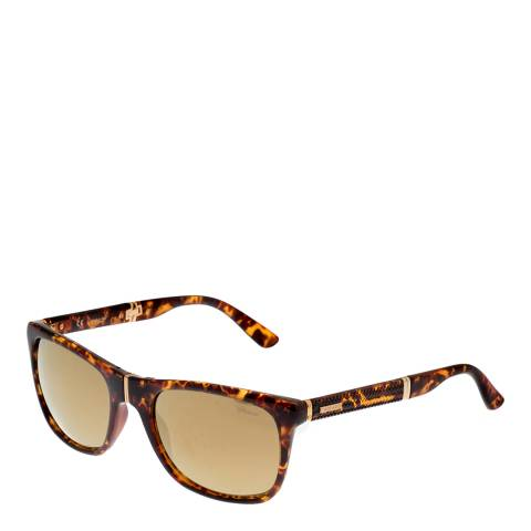 Chopard Women's Brown Tortoiseshell Chopard Sunglasses 57mm
