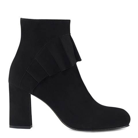 Sargossa Wisdom Suede Black Heeled Boot