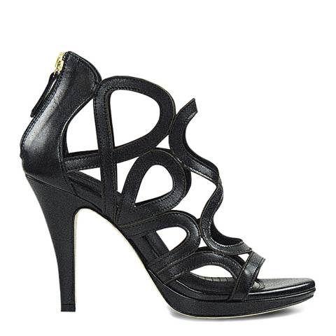 Sargossa Redefined Black Nappa High Heel