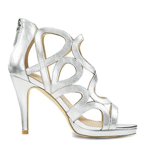 Sargossa Redefined Silver Nappa High Heel
