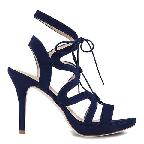Sargossa Chic Navy Suede High Heel