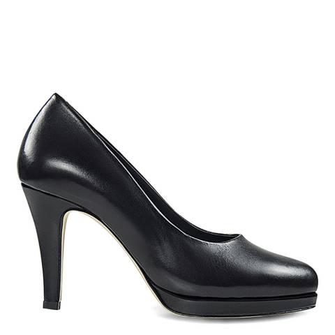 Sargossa Classic Black Nappa High Heel