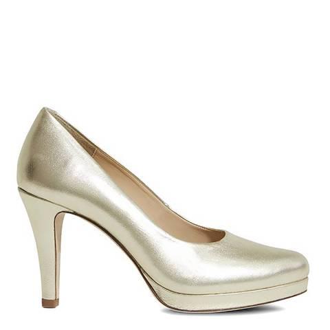 Sargossa Classic Gold Nappa High Heel