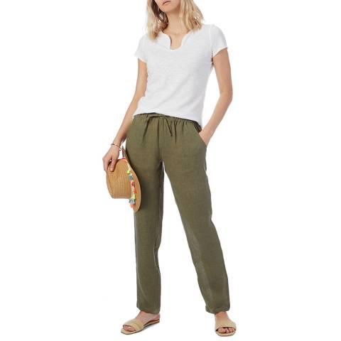 N°· Eleven Khaki Linen Trouser