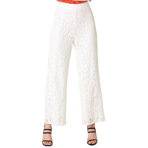 Damsel In A Dress Ivory Julietta Lace Trousers