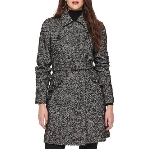 Damsel In A Dress Black Anna Tweed Coat