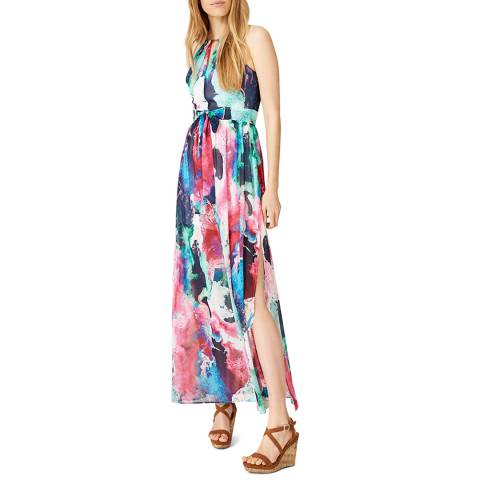 Damsel In A Dress Multi Print Amazon Maxi Dress