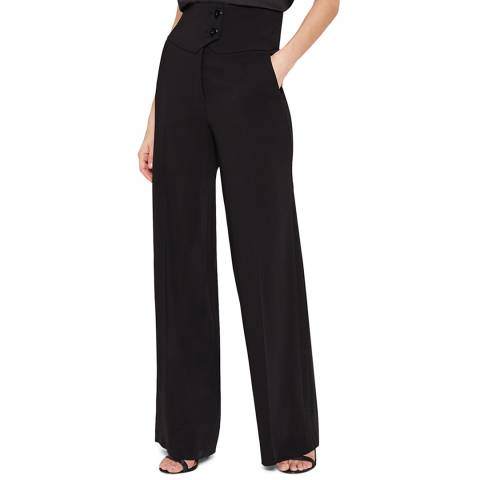 Damsel In A Dress Black Lelis Tux Trousers