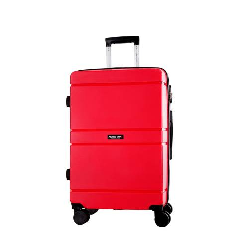 Travel One Red Caminera 8 Wheel Suitcase 50cm