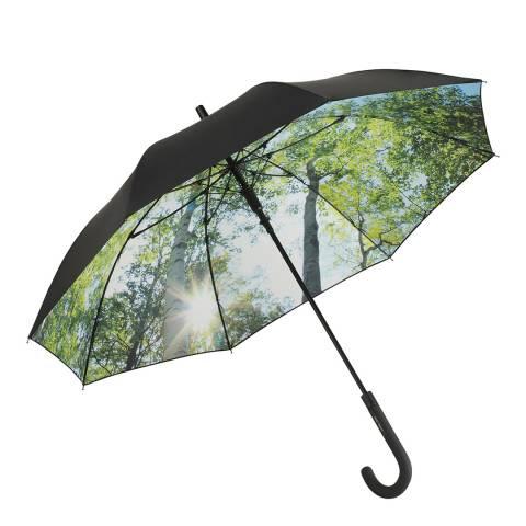 Fare Black / Green Forest UV Protection Umbrella