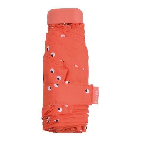 Bisetti Orange Folding Umbrella