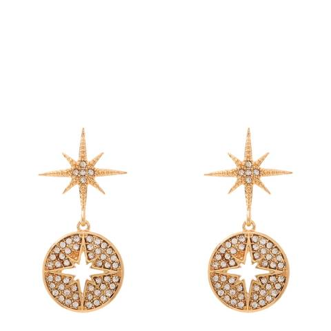 Amrita Singh Gold Star Droplet Earrings