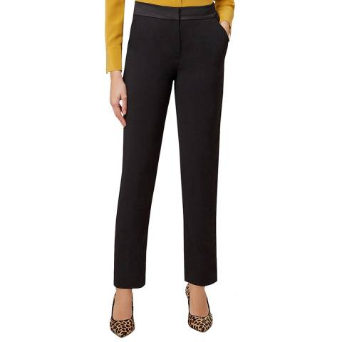 Hobbs London Black Tamia Trousers