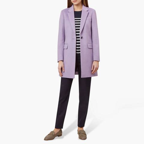 Hobbs London Lilac Tia Coat