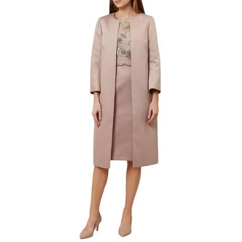 Hobbs London Taupe Anna Coat