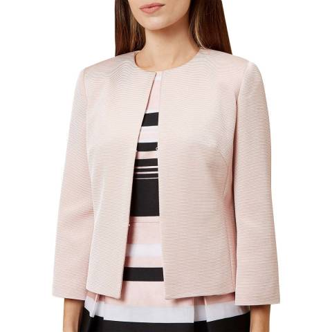 Hobbs London Pink Seraphina Jacket
