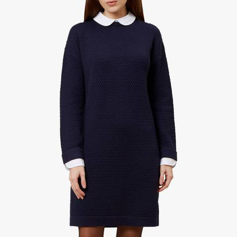 Hobbs London Navy Natalia Dress