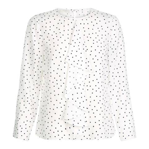 Hobbs London Ivory Kori Blouse