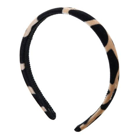 Amrita Singh Brown Velvet Headband