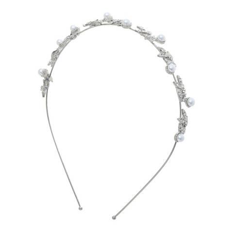 Amrita Singh Silver Headband