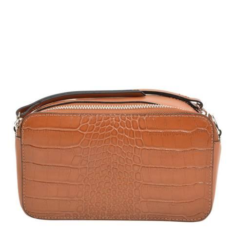Sofia Cardoni Brown Leather Handbag