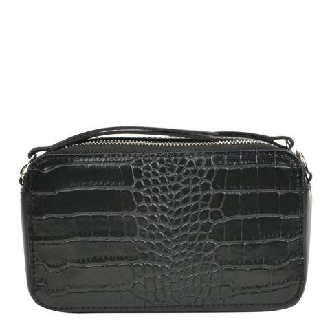 Sofia Cardoni Black Leather Handbag