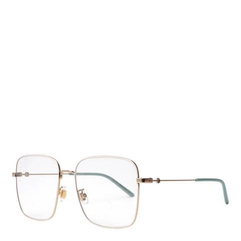 Gucci Women's Clear Gucci Glasses 56mm