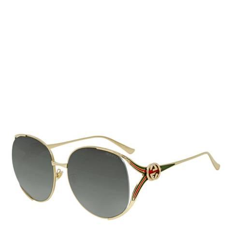 Gucci Women's Grey Gucci Sunglasses 63mm
