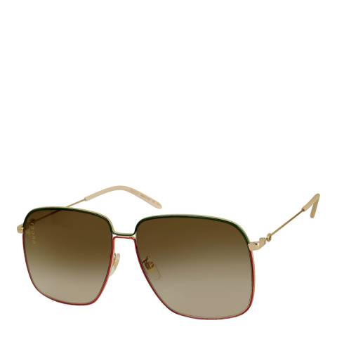 Gucci Women's Brown Gucci Sunglasses 61mm