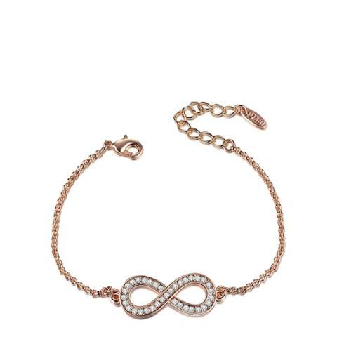 Ma Petite Amie Infinity Bracelet with Swarovski Crystals