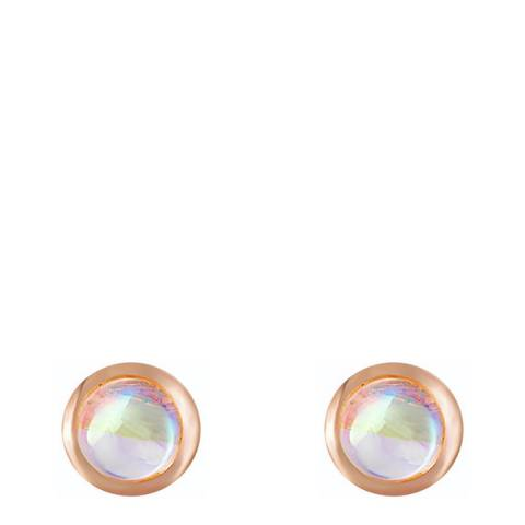 Ma Petite Amie Rose Gold Plated Elegant Earrings with Swarovski Crystals