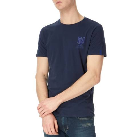 Replay Blue Basic Logo T-Shirt