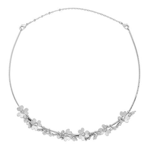 Ted Baker Silver Heart Blossom Necklace/Tiara