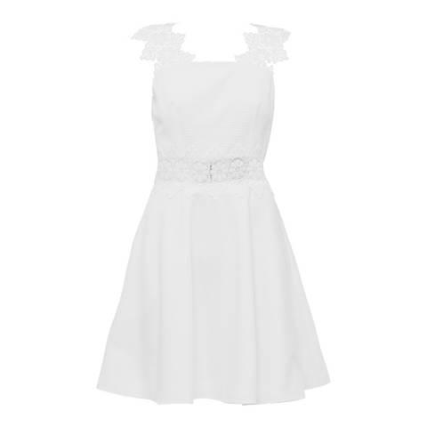 Ted Baker White Monaa Lace Shift Dress