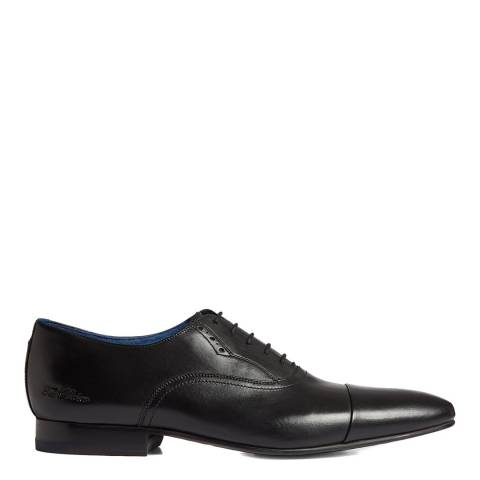 Ted Baker Black Murain Leather Oxford Shoes