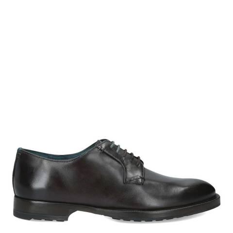 Ted Baker Black Silice Leather Derby Shoes