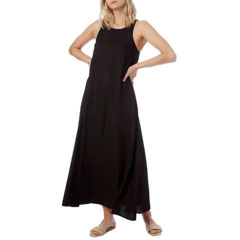 N°· Eleven Black Herringbone Tape Dress